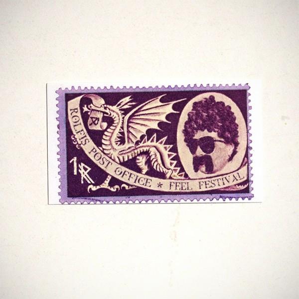 "ROLF LE ROLFE: ""Rolfis Post Office"" - Feel Festival Sticker"