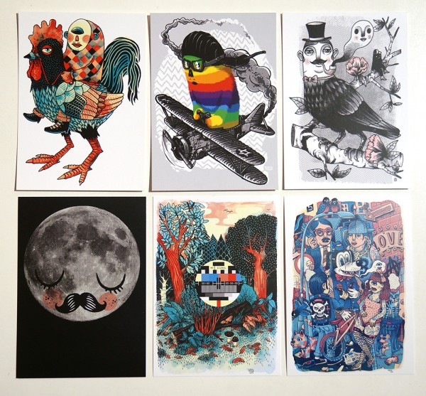 Yackfou - Postcard Pack 3 - A6