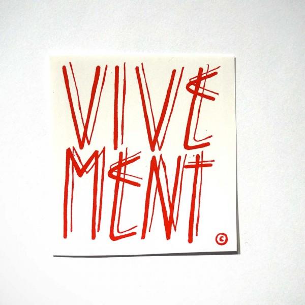 SP 38: Vivement - Sticker