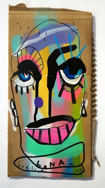 Bona Berlin: Head IX - Cardboard, SALZIG Berlin