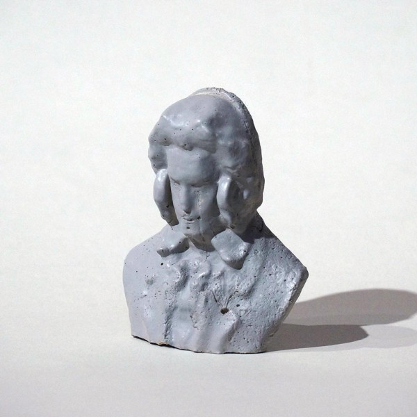 "Felikz the Fazke: ""Beathoven"" - Skulptur - 3D Druck, handgemalt - SALZIG Berlin Streetart"