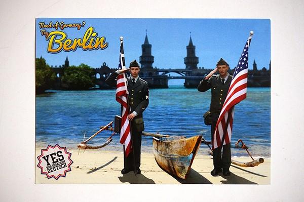 """Mein lieber Prost: """"Checkpoint"""" - Postkarte + Sticker A6"""