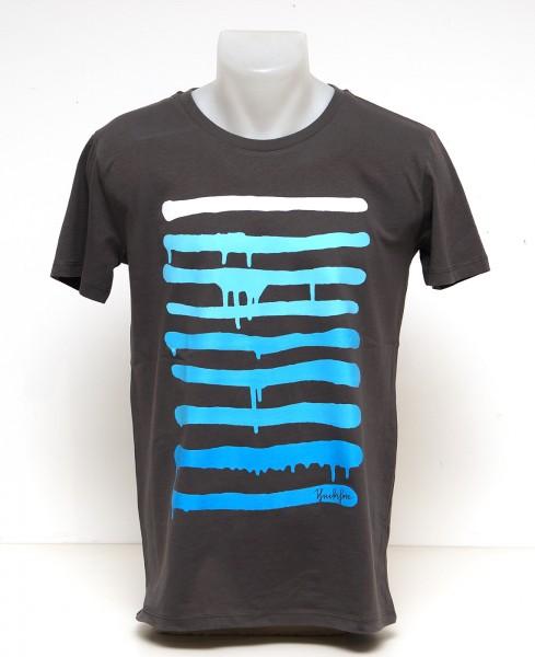Yackfou - Dripline T-Shirt auf Grau