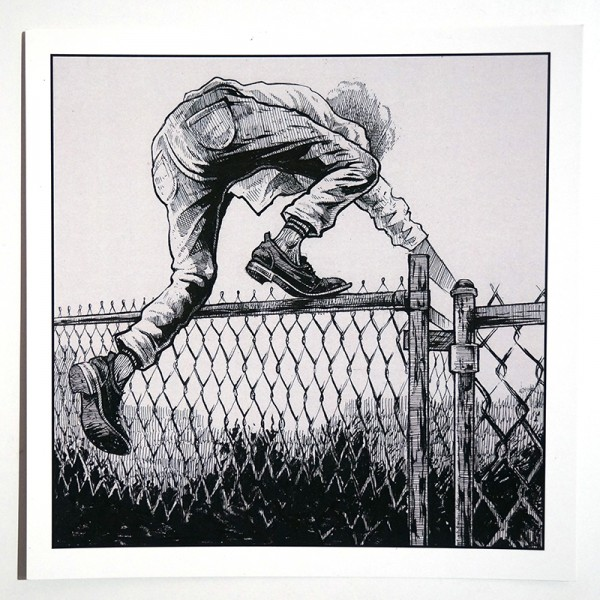 "Billy Badcock ""Over The Fence"""