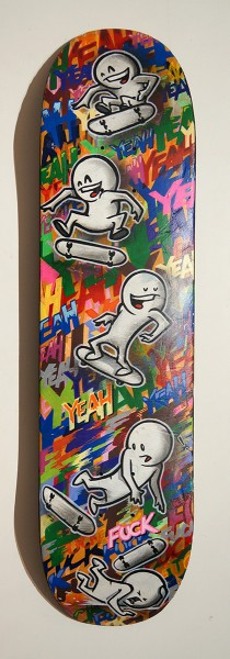 Prost: Yeeah Yeeah Fuck - Skateboard