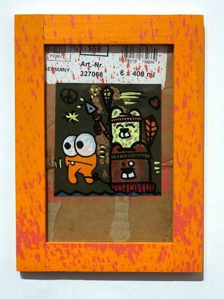 Angry Koala & HKDNS: 400ml Orange - SALZIG Berlin