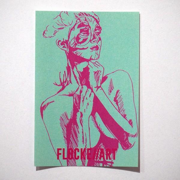 """Flocke//Art: """"Conta - Sticker 6"""" - SALZIG Berlin Friedrichshain"""