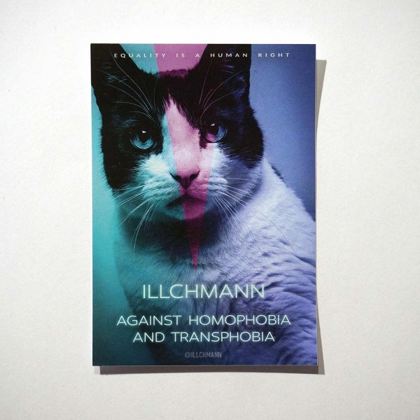 Illchmann: Equality - available at SALZIG Berlin Friedrichshain - Have fun!