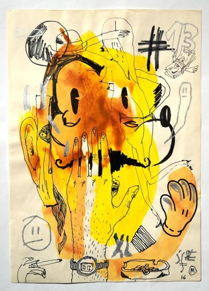 "Sam Crew aka John Reaktor: ""#13"" - Art de Rue - SALZIGberlin"