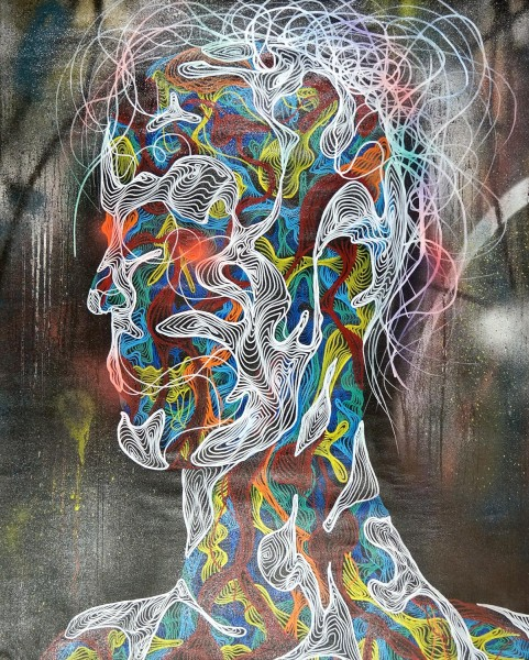 "Awer: ""Anatomism""  -SALZIGberlin  - Streetart Galerie"