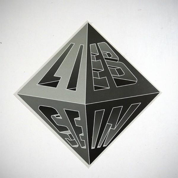 """LIEB SEIN: """"Pyramide - Sticker"""""""