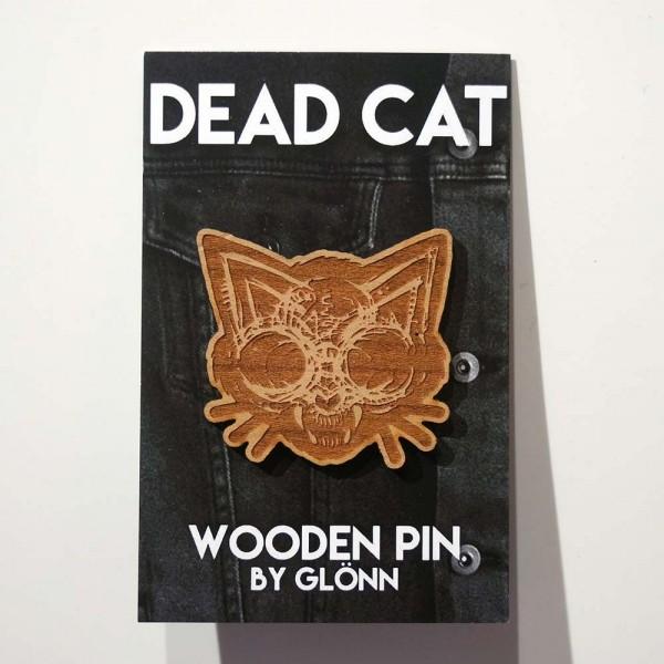 "Glönn: ""Dead Cat"" - Wooden Pin - SALZIG Berlin"