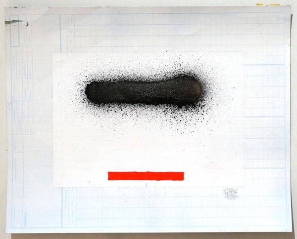 """Señor Schnu: """"Line 2"""" - Streetartgallery salzigberlin - abstractart"""