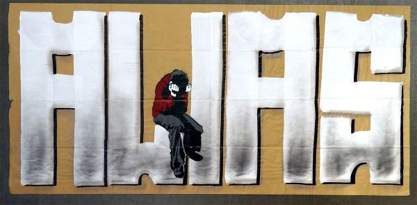Alias & Prost: Alias - SALZIGBerlin - Streetart Gallery