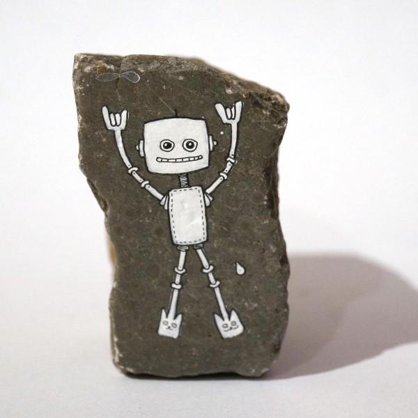 """Rabea Senftenberg: """"Robot Dance I"""" - A piece of Berlin - Stein"""