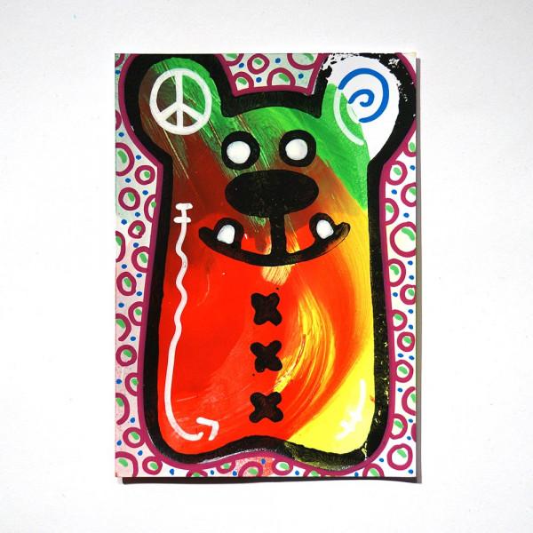 "Angry Koala: ""Cinereus Peace"" - Happy Postcard - SALZIG"