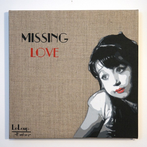 Le Loup - Stencil - Missing Love