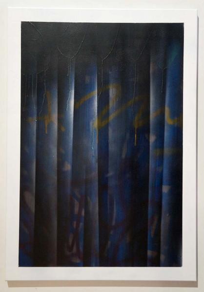 "Señor Schnu: ""Transparency Of The Urban Art Scene"" - mixed media on canvas - SALZIG Berlin"