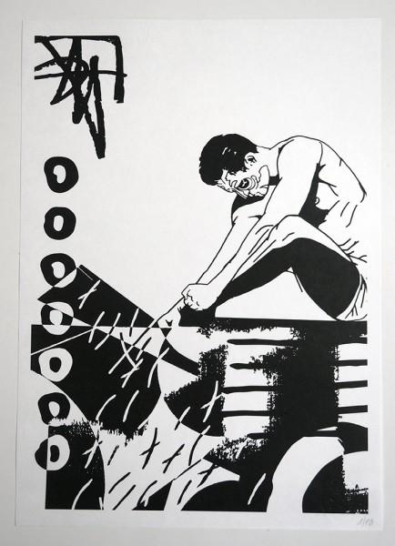 """FLOCKE//ART: """"COLLAGERALSCHADEN 09"""""""