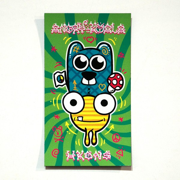 HKDNS & Angry Koala - Collaboration Magnet