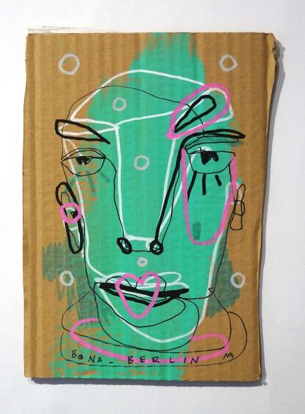 Bona Berlin: Head VII - Cardboard, SALZIG Berlin