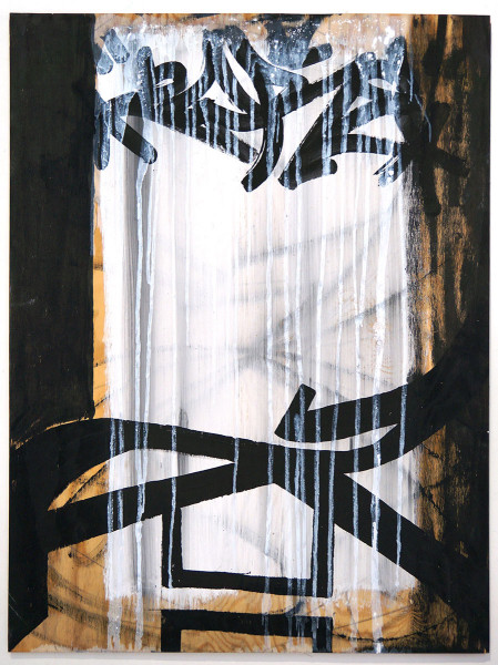 "Zore64: ""Untitled"" - Original on Canvas - SALZIG Berlin StreetART"