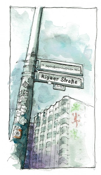 "Susanne Wilke: ""X - Rigaer"""