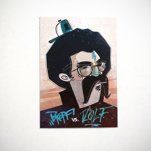 "ROLF LE ROLFE: ""Bkopf und Rolf"" - Collaboration Sticker"
