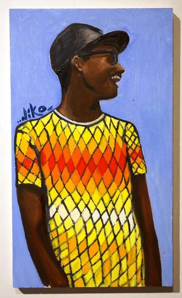 """Niko Streetart: """"Sunny Boy"""" - salzig berlin galerie"""