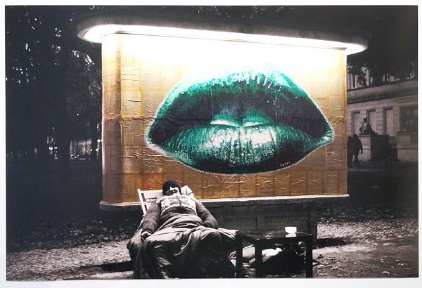 """Fatal: """"Lips"""" in Berlin - Paste Up"""