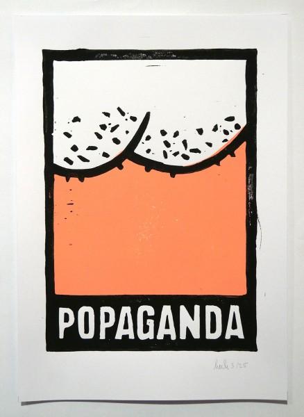 """Stefan Hoch: """"Popaganda - Neon Rosa"""" - 3/25 - SALZIG"""