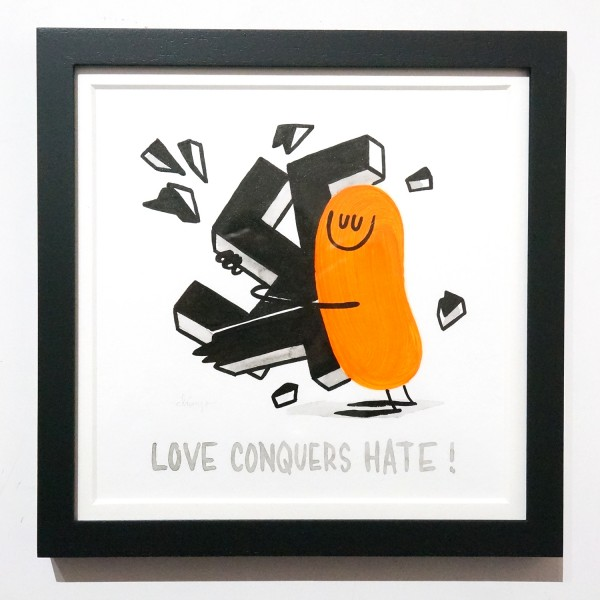 """Dave the Chimp: """"Love Conquers Hate"""""""