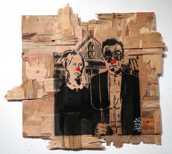 "Mimi the ClowN: ""American Gothic"" - SALZIGberlin - Signature"