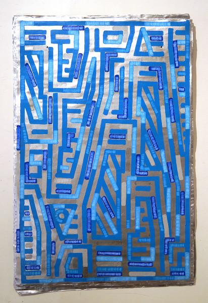 "Teknopainting aka Eysseric: ""5"" - SALZIGBerlin - Streetart Gallery"