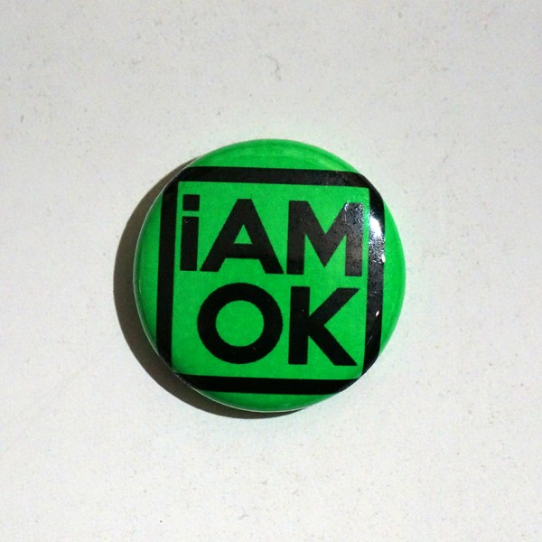 iAMOK Green 1 - Button
