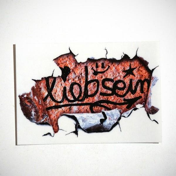 """LIEB SEIN: """"Wall - Sticker"""""""