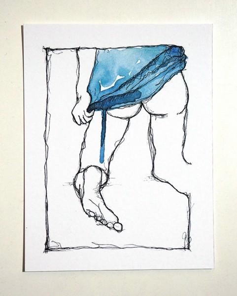 """Susanne Wilke """"Undress no.1"""""""