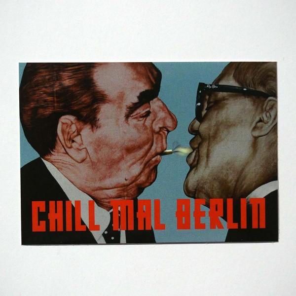 """Chill mal Berlin: """"Shot"""" - Sticker - Chill mal Berlin - SALZIG Streetart Gallery Berlin"""