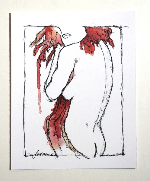 "Susanne Wilke ""Undress no.5"""