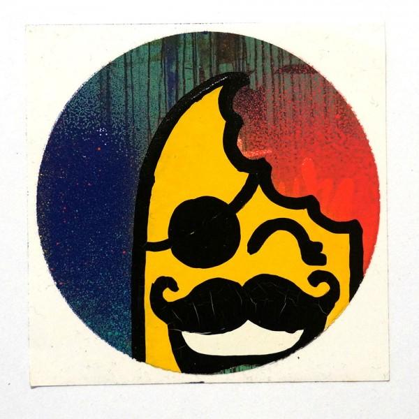 "Señor Schnu: ""Handmade Sticker 2"" - SALZIG Berlin, your Streetart Gallery"