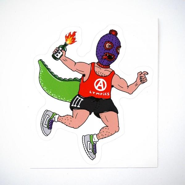 "Späm: ""Anarcho"" Sticker - Humanoids Series"