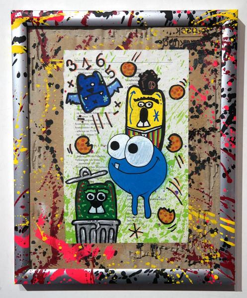 "Angry Koala & HKDNS: ""Sachverzeichnis"" - Collaboration Artwork - SALZIG Berlin"