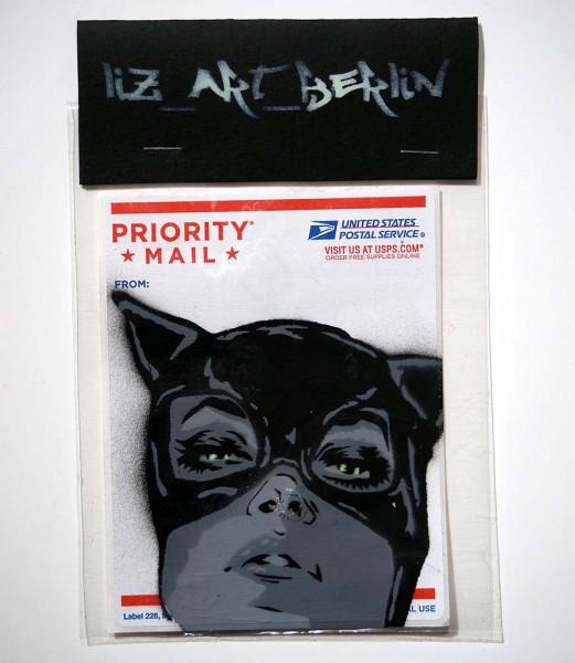 "Liz_Art_Berlin: ""Catwoman Face"" - SALZIGBerlin Streetart Gallery"