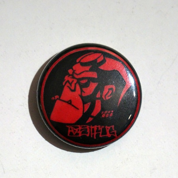 Ostfug Hellmonkey - Button