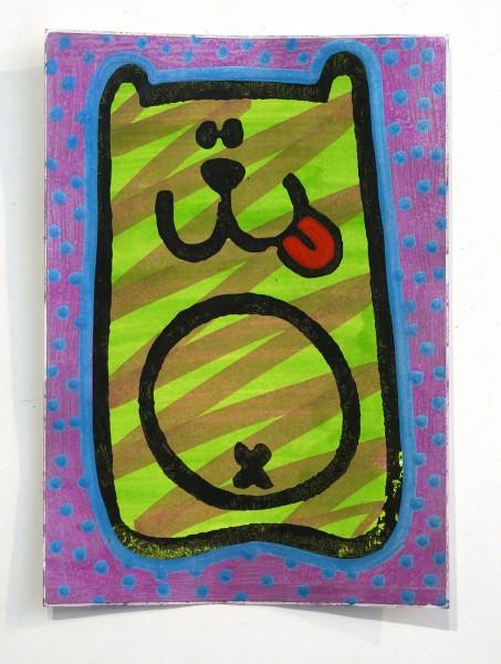 "Angry Koala: ""Green Koala"" - Handmade Sticker"
