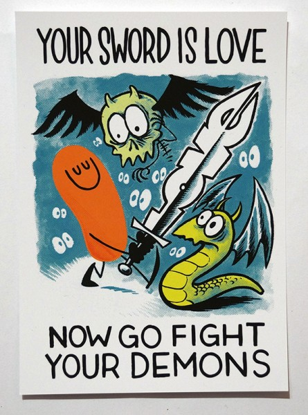 Dave the Chimp: Your Sword Is Love - SALZIG Berlin