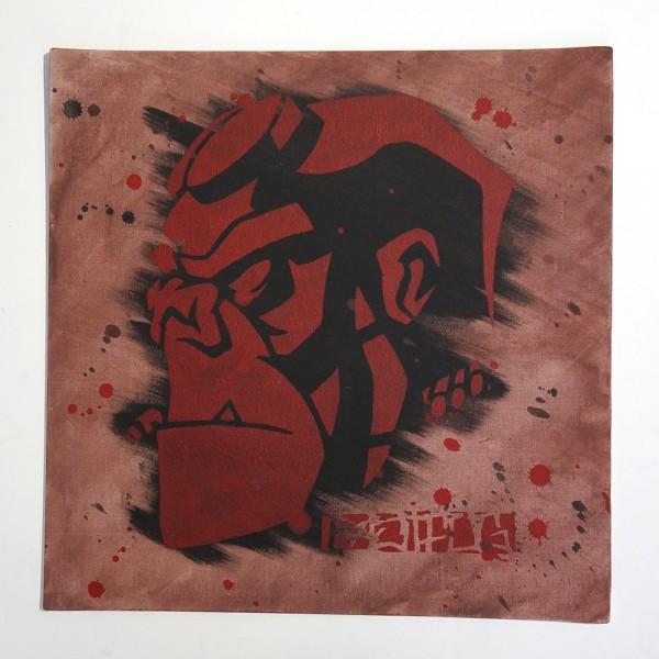 """Ostfug: """"Hellmonkey"""" - Stencil"""