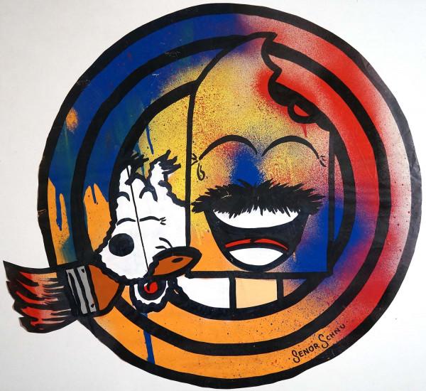 "Señor Schnu: ""Schnuppi - Paste Up"" - streetart - SALZIG Berlin"