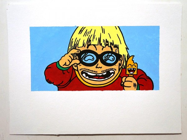 "Señor Schnu: ""X ray glasses"" - SALZIG, Streetart Galerie in Friedrichshain"