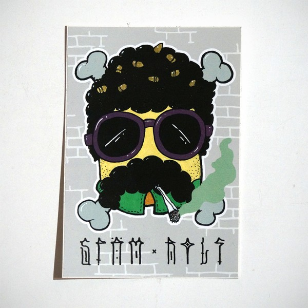 "ROLF LE ROLFE: ""Späm und Rolf"" - Collaboration Sticker"